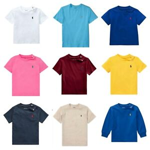Genuine Ralph Lauren Polo baby boy girl t shirt  3 6 12 18 24 WITH TAGS