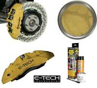 E-Tech High Quality Gold Engine Bay & Wheel Hub Brake Caliper Paint Full Kit
