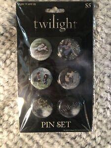 Twilight Saga  Pin Set