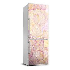 3D Art Refrigerator Wall Kitchen Removable Sticker Magnet Flowers Plants flowers