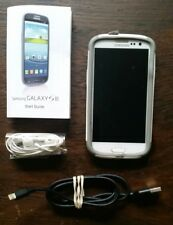 Samsung Galaxy S III SGH-T999-16GB-Marble White (T-Mobile) Smartphone *AS IS*