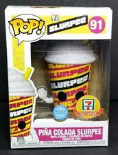 FUNKO 7 ELEVEN SLURPEE EXCLUSIVE ~ Pina Colada ~ 7-11 Glitter Pop IN HAND