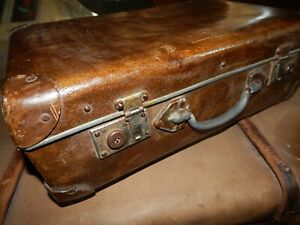 Vintage luggage suitcase,USSR Soviet Russian Retro bag,RARE case trunk