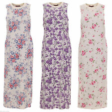 Unbranded Crew Neck Sleeveless Maxi Dresses for Women