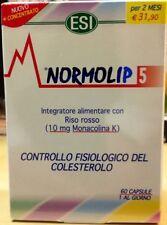 Normolip 5 ESI 60 capsule Integratore contro il Colesterolo 1 conf 21,95€ PROMO