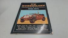 VW Kubelwagen, 1940-75 (Brooklands Books Road Tests Series), Anon