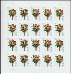 2017 US Stamps - Celebration Boutonniere - SC# 5199