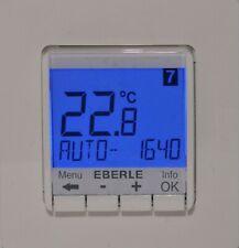 EBERLE Raumtemperaturregler FIT 3R Raumthermostatregler programmierbar blau