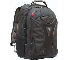 """WENGER Carbon 17"""" Laptop Backpack - Black"""