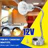 12V LED Reading Spot Light Bedside Wall Lamp Adjust RV Boat Caravan Motorhome