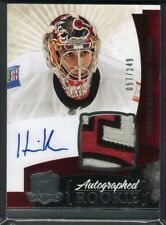 10-11 Henrik Karlsson The Cup Auto Rookie Card RC #140 Sick Jersey Patch 057/249