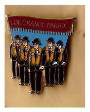 loyal orange lodge lapel badge ulster loyalist king billy scots LOL orange order