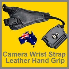 BIG SALE Genuine Leather Camera Wrist Strap Hand Grip for Canon Nikon OZ stock