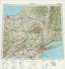 Russian Soviet Military Topographic Maps - NEW YORK (USA), 1:1 000 000, ed.1966
