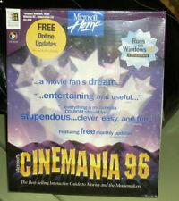 Microsoft Cinemania for Windows 95 (1995, CD-ROM) in shrink wrap