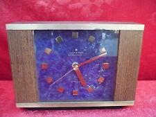 Beautiful, Old Mantel __ Clock __ Junghans Electronic Atd-Mat__