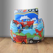 Children's Beanbag Chair Transport Emergency Vehicles Boys Kids Furniture Bean