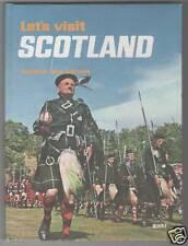 Angus Macvicar - Lets Visit Scotland 1st Ed 1966 H/B
