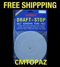 Handy Draft Stop Self Adhesive Felt Draft Stopper - FREE SHIPPING