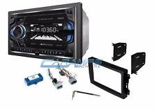 SOUNDSTREAM CAR STEREO RADIO W/ BLUETOOTH AUX/USB INPUTS & INSTALLATION KIT