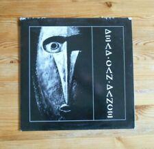 Dead Can Dance 4AD 1984 vinyl