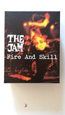 """THE JAM """" FIRE AND SKILL """" - POLYDOR 4738610 - UK & EUROPE 2015 - DE LUXE BOXSET"""
