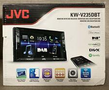 """JVC KW-V235DBT Double Din 6.2"""" Bluetooth DAB Car Radio DVD CD MP3 EX-DEMO"""