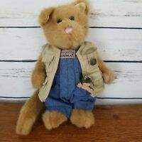 Boyds Bear Cat Overalls Frog Kitten Vest Collection Plush Stuffed