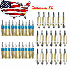 From USA 20set Dental Low Speed Straight Handpiece & Air Motor E-type 4H Fit NSK