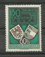 Österreich 1950 Kärntner Volksabstimmung 60 + 15 Groschen **