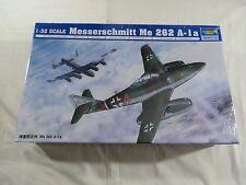 Trumpeter 1:32  Messerschmitt Me 262 A-1a Model Kit 02235 SEALED