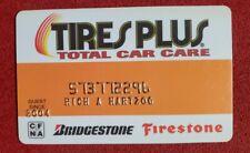 Tires Plus Total Car Care credit card◇free ship◇cc1703 Firestone Bridgestone
