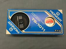 Vintage PIONEER DUAL CONE TS-1011 Flush Mount Car Stereo Speakers NEW OLD STOCK