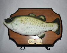 Big Mouth Billy Bass Singing Animated Mounted Fish 1999 Gemmy