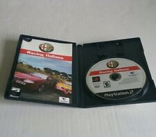 Alfa Romeo Racing Italiano Complete w/ Manual (PS2) Sony PlayStation 2