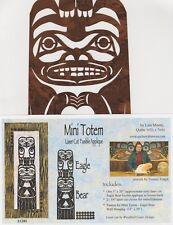 Mini Totem Eagle Bear Laser Cut Quilt Kit DIY Quilting Appliqué Only
