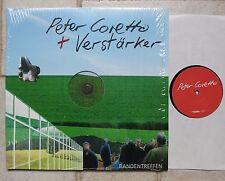 Peter Coretto + Verstärker  Bandentreffen Milchmann Records mmr 06-004 LP + CD