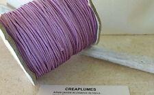 Lot de 5m cordon fil de nylon pour bracelet , 1.5mm  violet