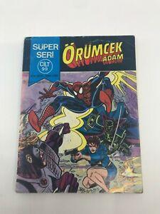 SPIDERMAN #140 - Turkish Comic Book - 1980s - MARVEL - Ultra Rare