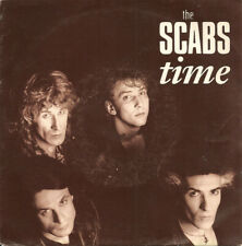"THE SCABS, TIME, 7"" SINGLE VINYL, EUROPE 1990 (AS NEW)"