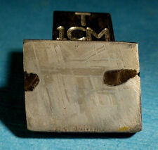 New listing 4.34 gram Square-Shaped Gibeon Meteorite Slice with Light Etching