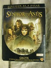 Senhor Dos Aneis Lord of the Rings, Fellowship of the Ring BRAZILIAN 2-Disc DVD
