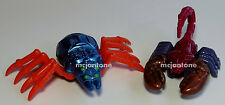 LOOSE LOT 2 McDonald's 1998 TRANSFORMERS Beast Wars Toy SCORPONOK No Dupes