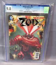ACTION COMICS #23.2 (3-D Lenticular Cover, Zod #1) CGC 9.8 DC 2013 Superman
