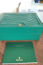 ROLEX OYSTER PERPETUAL DATEJUST 116244 WATCH BOX, OUTER, INSTRUCTIONS