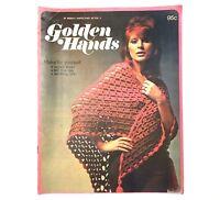 1972 Golden Hands Craft Knitting Sewing Crochet Patterns Guide Vintage Magazine