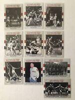 1964 U.S. Olympic Men's Basketball Team Set (10 Cards) ~ 1991 Impel #52-61