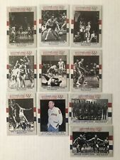 1964 U.S. Olympic Men's Basketball Team Set (10 Cards) ~ 1991 Impel #52-61