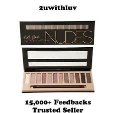 LA L.A. GIRL BEAUTY BRICK EYESHADOW COLLECTION NUDES GES331 AUTHORISED SELLER
