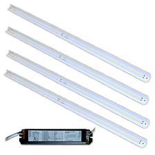 48W LED Retrofit Kit for 2x4 fixture.  4 strips 6000K ( Lot of 10 sets)